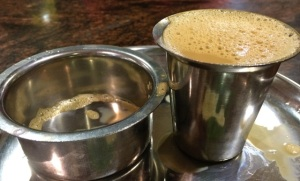 The 'South Indian' filter coffee... unbeatable!